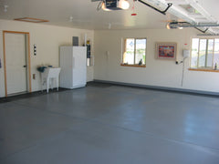 Tuff Coat Non-skid surface coating in garage