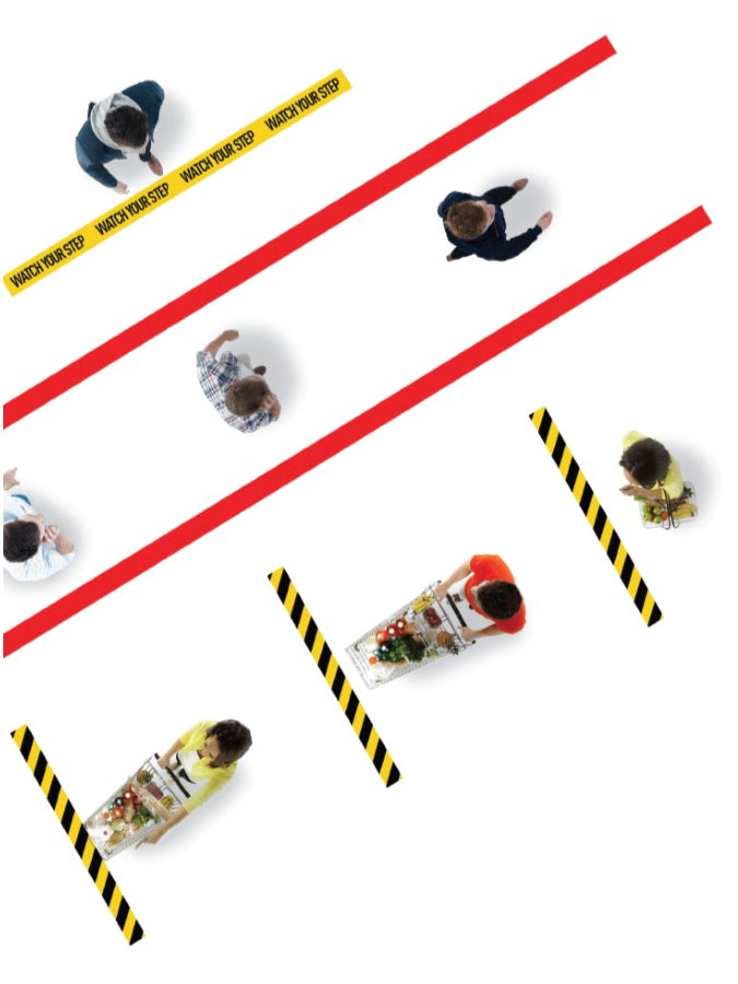 Social Distancing Anti Slip Tape