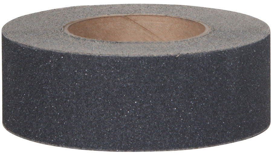 "2"" X 60' Case of 6 Rolls Abrasive 80 Grit Anti Slip Grip Tape Black"