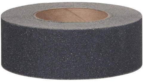 "2"" Wide X 60' Foot Safety Track Abrasive 80 Grit Anti Slip Non Skid Tape Black 3100-2 Case of 6 Rolls"
