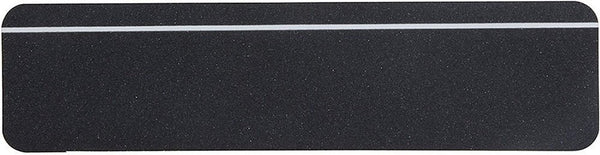 "6"" X 24"" Glow Stripe Treads Safety Track Abrasive 80 Grit Anti Slip Tape Black 3100-6X24-PL"