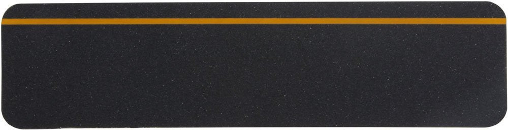"6"" X 24"" BLACK with REFLECTIVE Stripe Abrasive Tread - Case of 48"