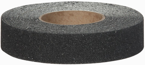 "1.5"" Wide X 60' Foot Roll Safety Track 3200 Abrasive 46 Grit Anti Slip Non Skid Tape Black 3200-1.5"
