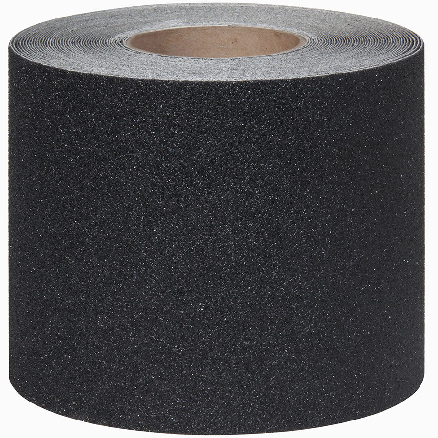"6"" X 60' BLACK Abrasive Coarse Tape - 6 Case of 2 Rolls"