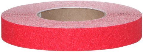 "1"" Wide X 60' Foot Roll of Abrasive Anti Slip Non Skid Safety Track Tape Red 3315-1"