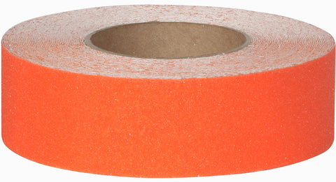 "1"" Wide X 60' Foot Roll of Abrasive Anti Slip Non Skid Safety Track Tape Orange 3320-1"