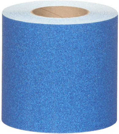 "4"" X 60' Abrasive Anti Slip Non Skid Safety Track Tape Dark Blue 3325-4 Case of 3 Rolls"
