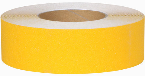 "2"" Wide X 30' Foot Roll Abrasive Anti Slip Non Skid Safety Track Tape Yellow 3335-2-30"