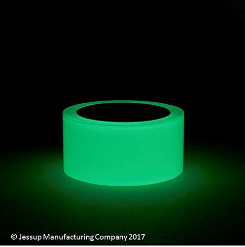 "4"" x 60' Roll GLOW IN THE DARK Abrasive Tape - Case of 3 - Special Order - No Return"