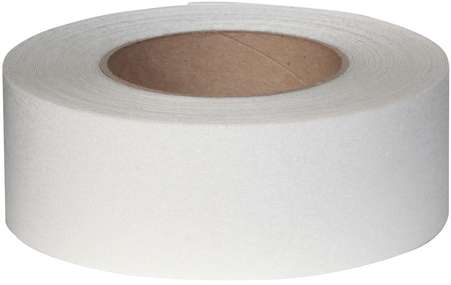 "2"" X 60' Roll CLEAR Resilient Tape - Case of 6"