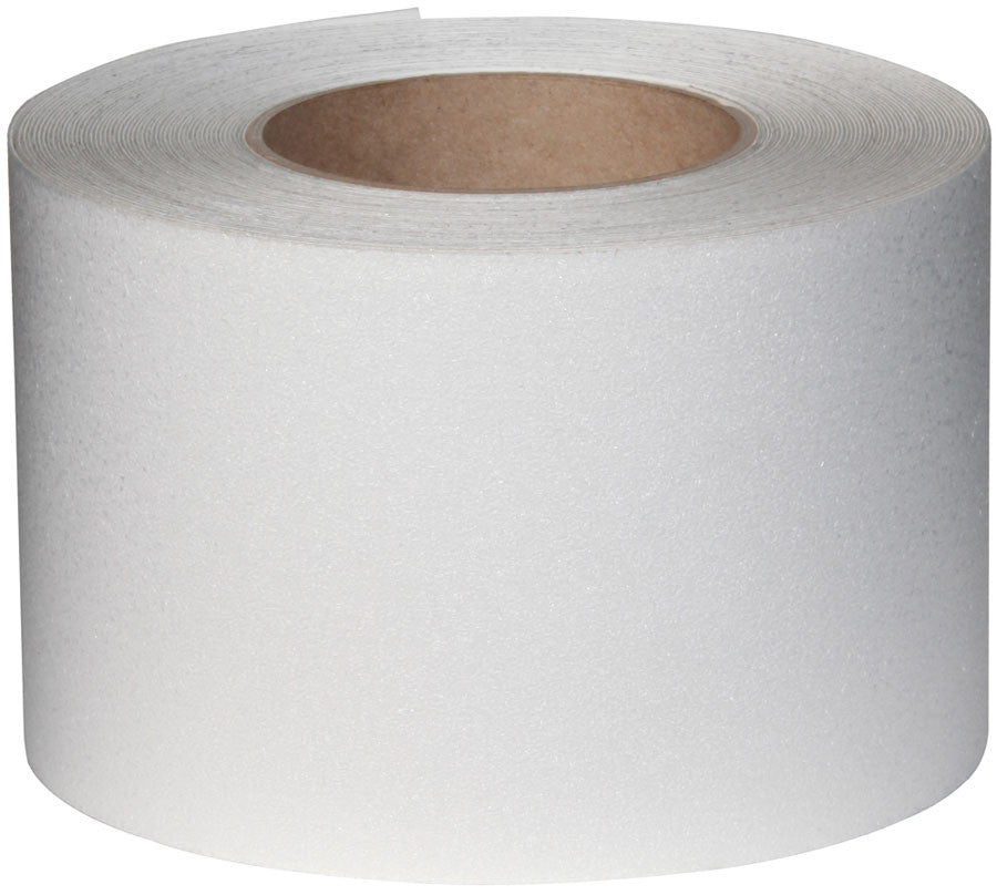 "4"" X 60' Roll CLEAR Resilient Tape - Case of 3"
