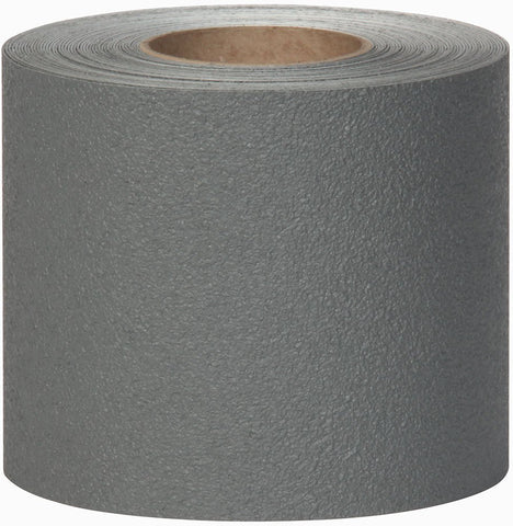 "4"" X 60' Roll Jessup Safety Track Coarse Resilient Anti Slip Non Skid Safety Tape Gray 3620-4"