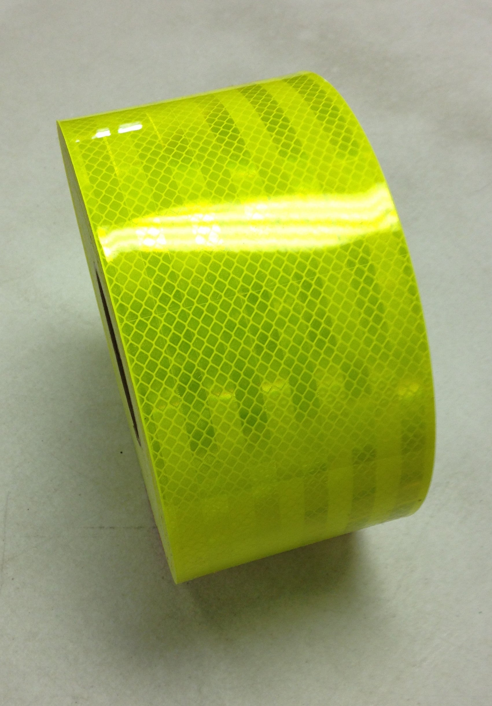 "4"" x 10' Roll 3M FLUORESCENT YELLOW GREEN Reflective Conspicuity Tape"