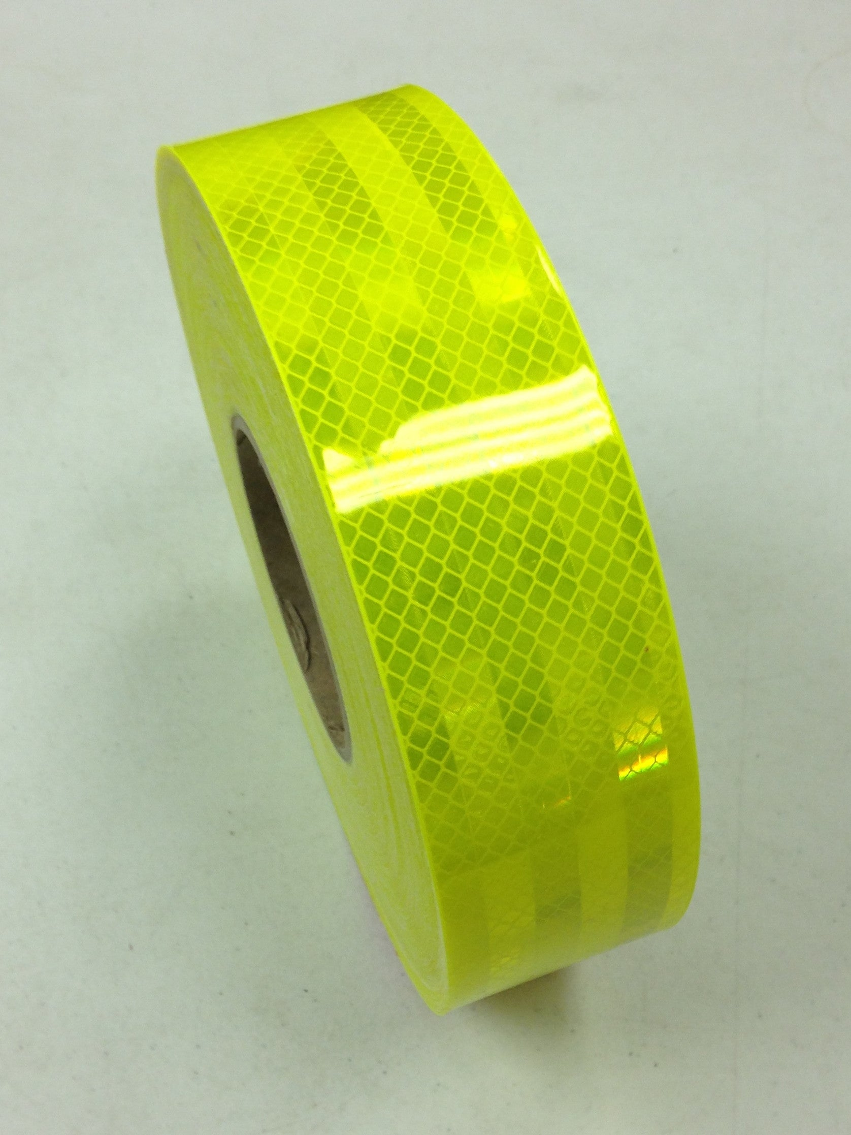"2"" x 12' Roll FLUORESCENT YELLOW GREEN 3M Reflective Tape"