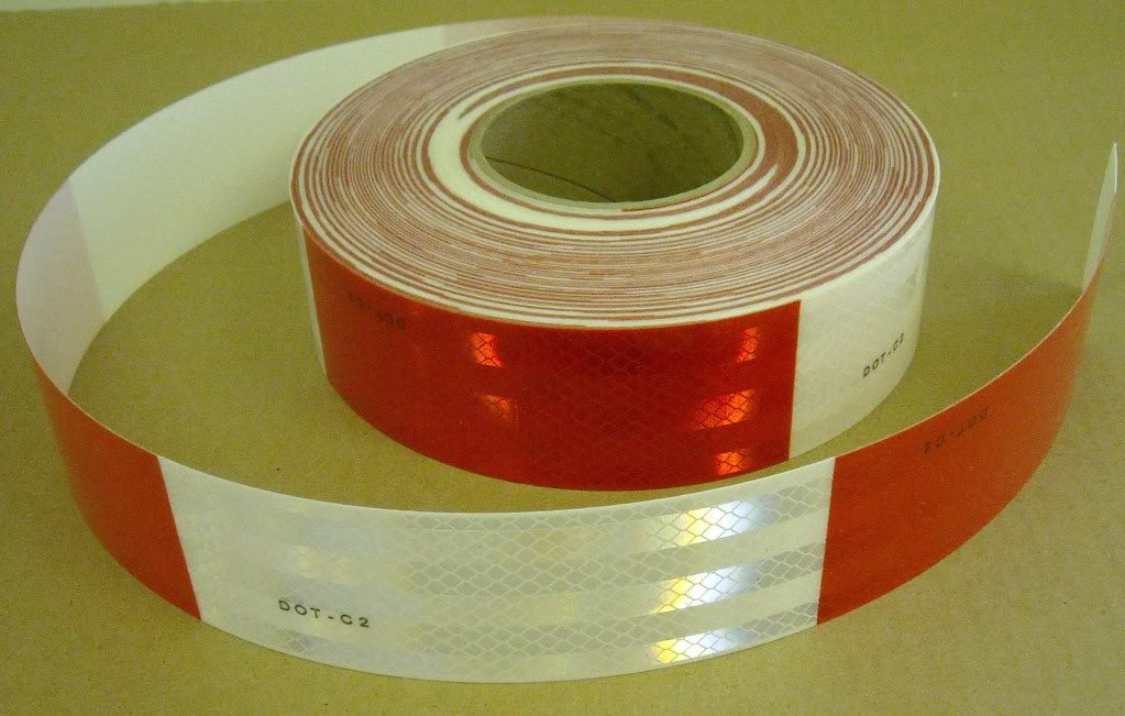 "2"" x 150 Foot Roll 3M 983 Series DOT Reflective Conspicuity Tape Pressure Sensitive Adhesive 983-326 (PN67535)"