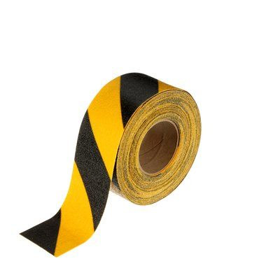 3M 613 Series BLACK & YELLOW Tape & Treads - Multiple Options
