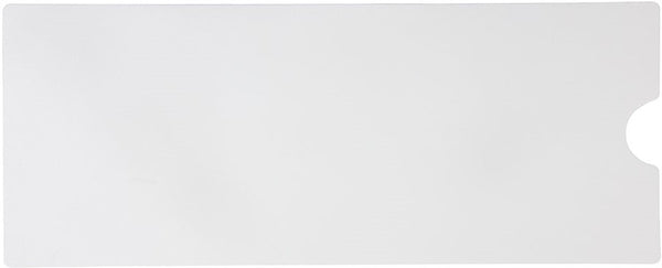 "16"" X 40"" Jessup Flex Track 4100 Vinyl Fine Texture Tub Shower Anti Slip Non Skid Safety Adhesive Bath Mat White 4100-16X40-RW-CT"