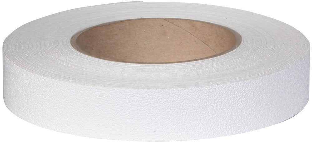 "1"" X 60' WHITE Vinyl Tub & Shower Tape - Case of 12 Rolls - 5 to 10 Day Processing"