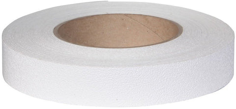 "1"" X 60' Roll Jessup Flex Track Vinyl Fine Texture Tub Shower Anti Slip Non Skid Safety Tape White 4100-1"