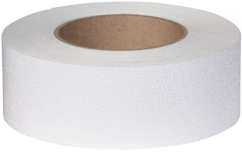 "2"" X 60' Roll Jessup Flex Track Vinyl Fine Texture Tub Shower Anti Slip Non Skid Safety Tape White 4100-2"