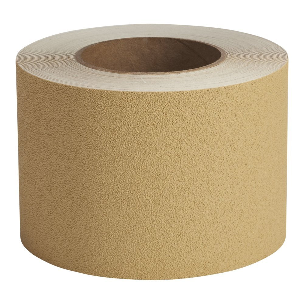 "4"" X 60' Roll SANDSTONE Vinyl Fine Texture Tub Shower Tape - Limited Stock"