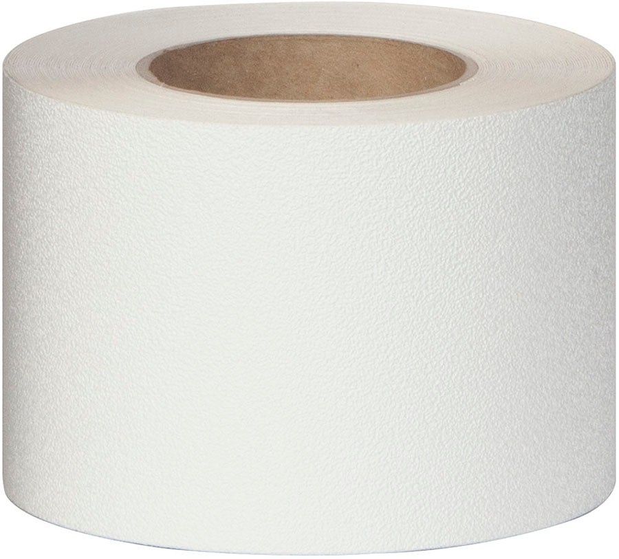 "Special Offer - 6"" X 60' Roll WHITE Vinyl Fine Texture Tub Shower Tape - Use Code 30OFFTODAY For 30% Savings - Limited Stock"