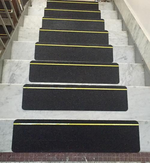 84612 Yellow Reflective Stripe Anti Slip Stair 50 Treads Safety Tape Safe Way Traction