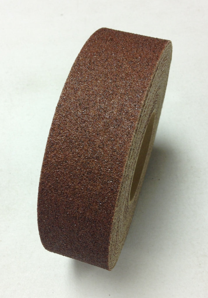 "2"" X 60' Foot Roll Master Stop Abrasive Grit Anti Slip Non Skid Safety Tape Brown 88206"