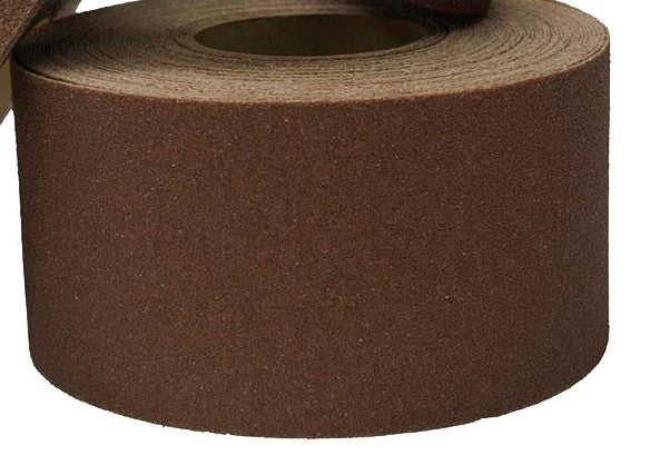 "2"" X 60' Roll BROWN Abrasive Tape - Case of 6"