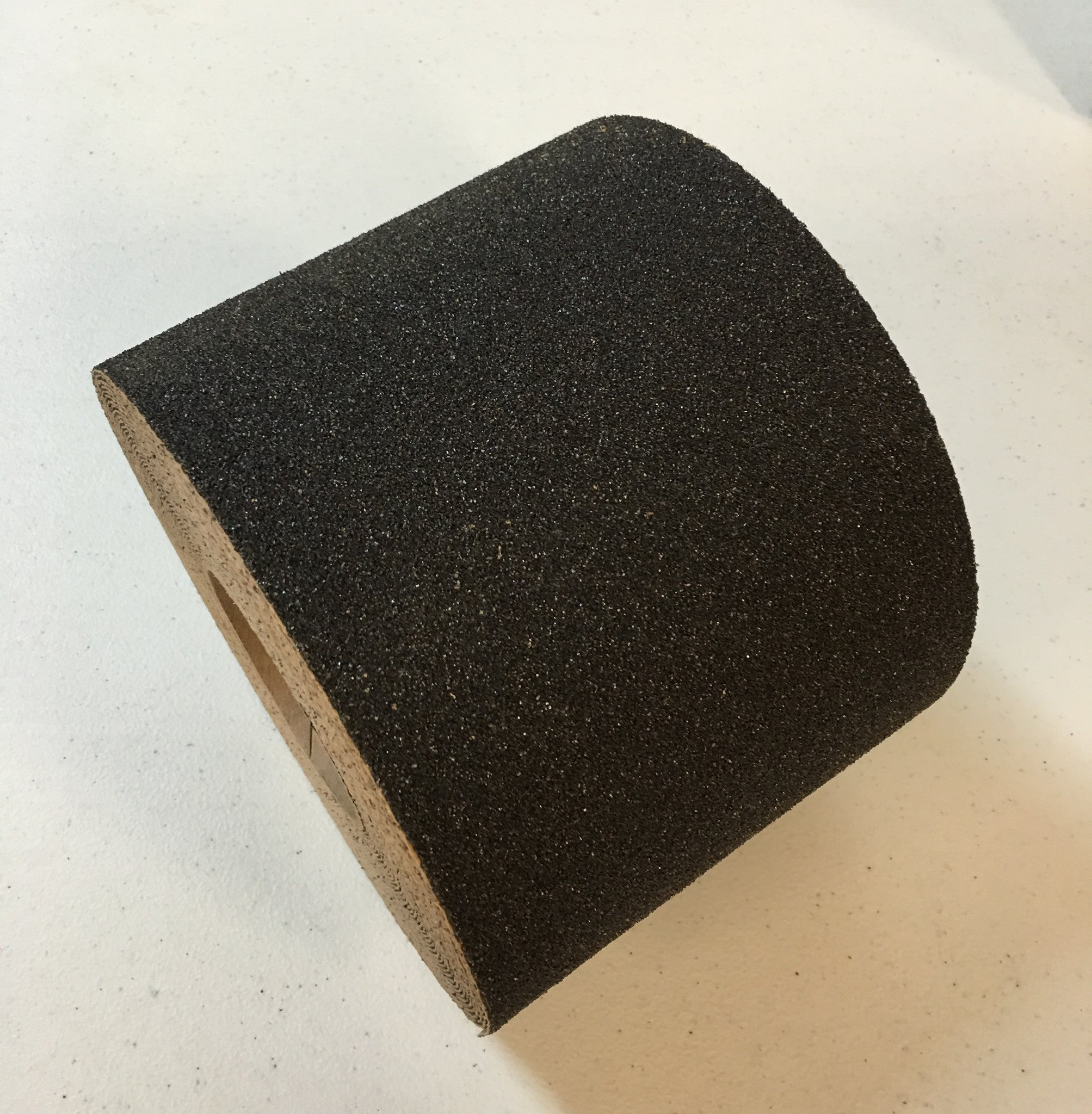 "4"" X 60' Foot Heavy Duty AO 36 Grit Abrasive Anti Slip Non Skid Safety Tape Black 88414 Case of 3 Rolls"