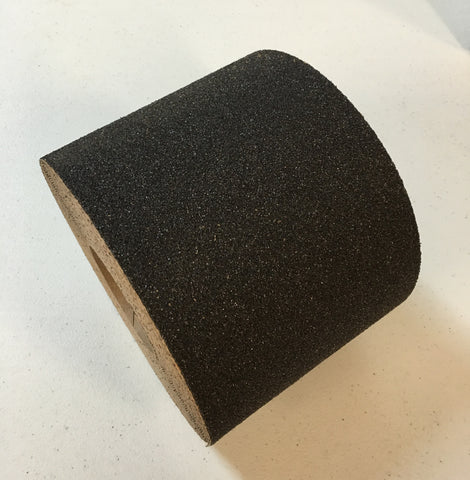 "2"" X 60' Foot Heavy Duty 36 Grit Abrasive Anti Slip Non Skid Safety Tape Black 88214 Case of 6 Rolls"