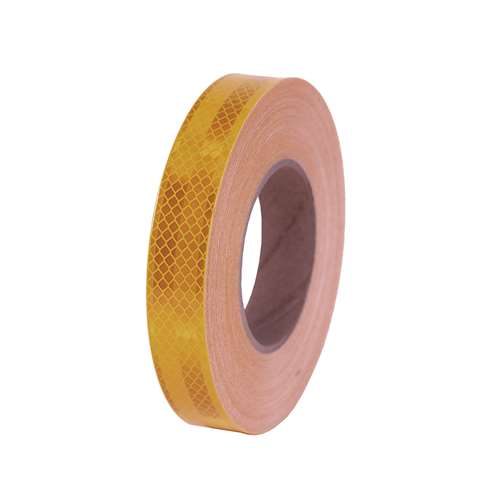 "1"" x 150' Roll 3M Reflective Safety Tape -  Fluorescent Yellow"