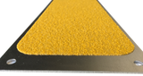 Aluminum Anti Slip Safety Step Plate Abrasive Yellow - See Drop Down For Sizes