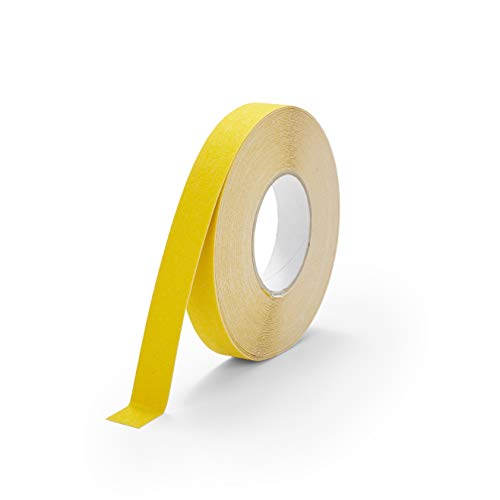 "4"" X 60' Foot Roll Heskins Safety Grip Anti Slip Tape Yellow NSTS4Y"
