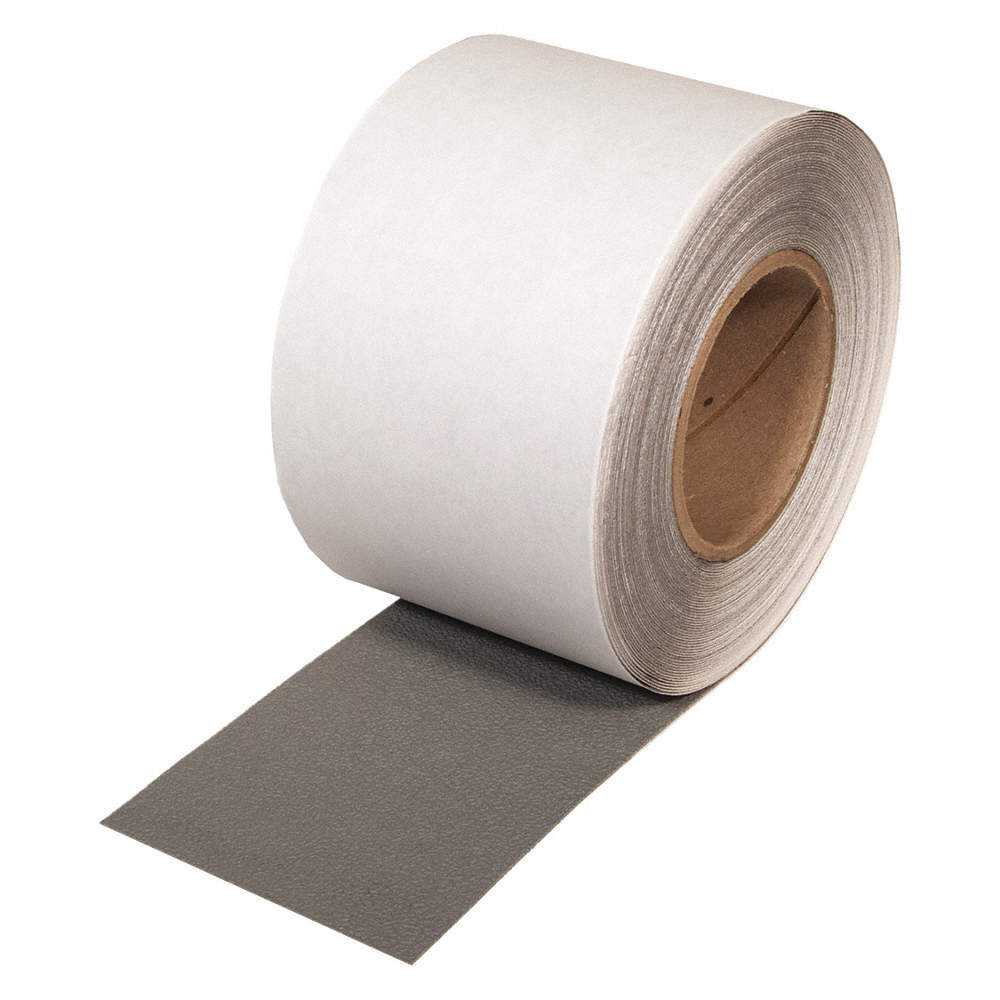 "4"" X 60' Roll SoftTex Resilient Non-Slip Tape Gray PFX2104G"