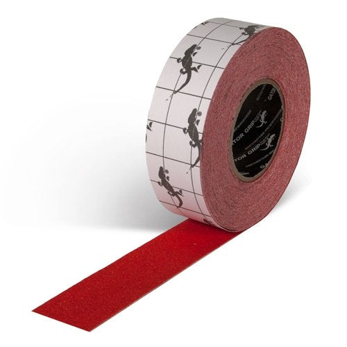 "2"" X 60' Roll Gator Grip 60 Grit Non-Slip Tape RED SG3502R"