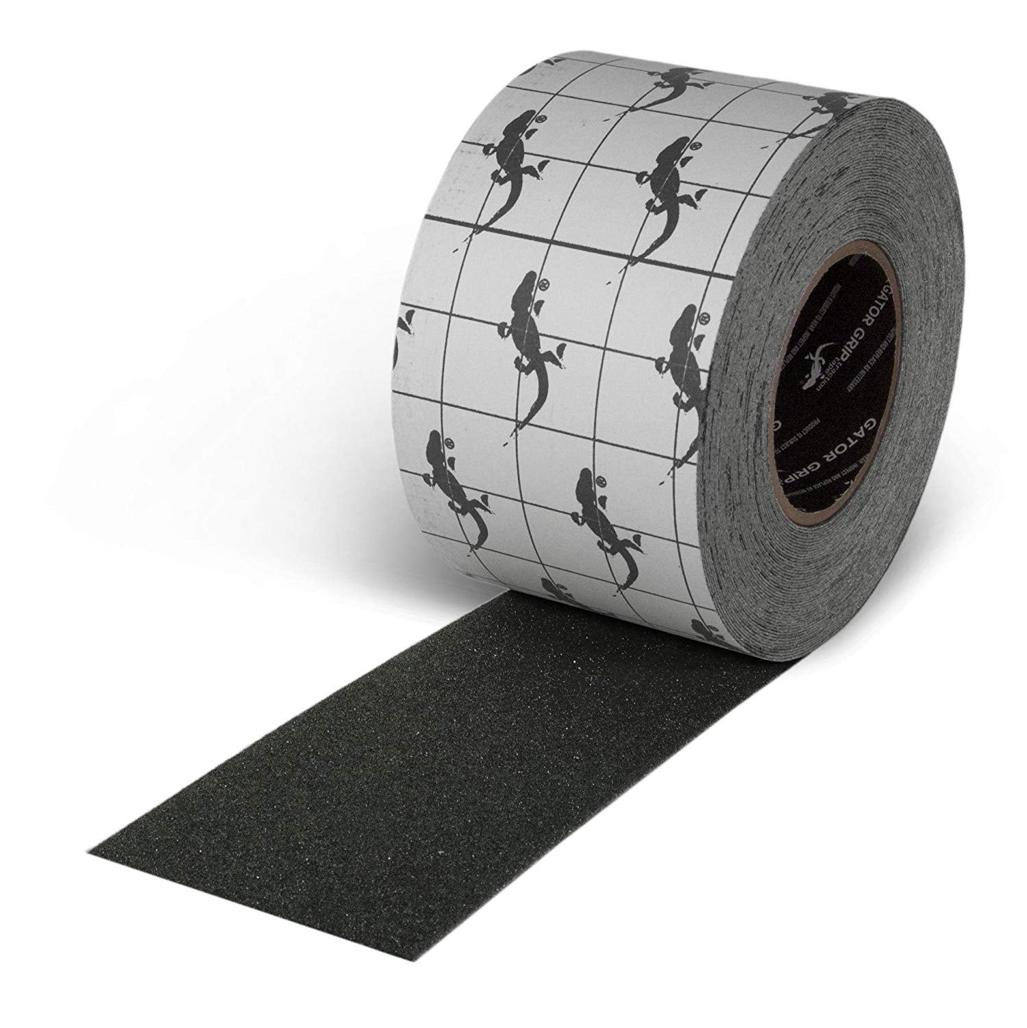 "4"" x 60' Roll Gator Grip SG3103B Premium Grade High Traction Tape"