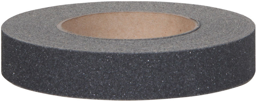 "1"" X 60' Case of 12 Rolls 80 Grit Abrasive Non Skid Grip Tape Black"