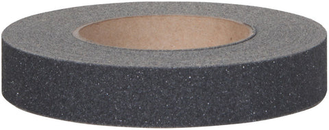 "1.5"" Wide X 60' Foot Safety Track Abrasive 80 Grit Anti Slip Tape Black 3100-1.5 Case of 8 Rolls"