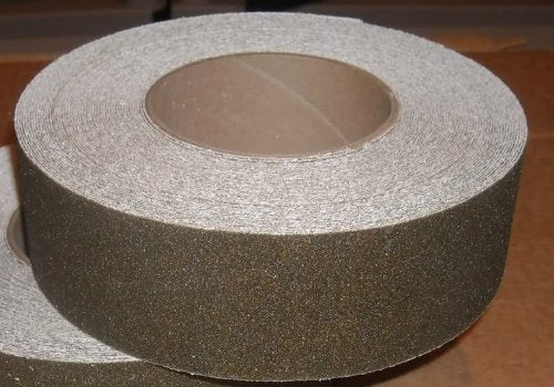 "2"" Wide X 60' Foot Roll Jessup Safety Track Abrasive Anti Slip Non Skid Tape Brown 3345-2"