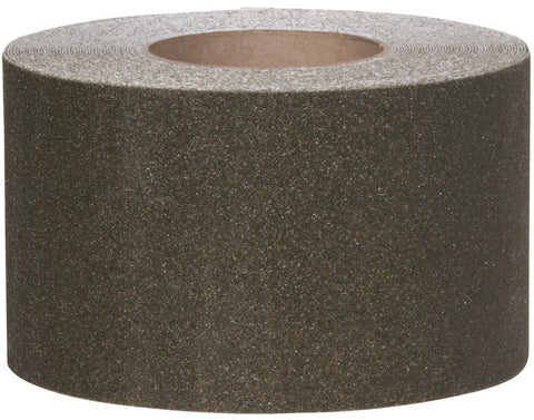 "4"" Wide X 60' Foot Roll Safety Track Abrasive Anti Slip Non Skid Tape Brown 3345-4"