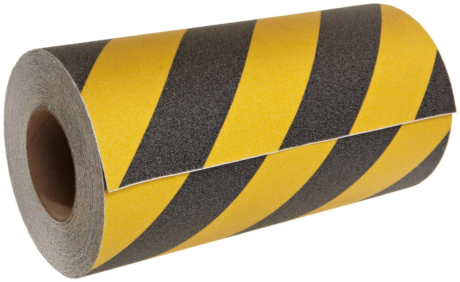 "12"" Wide X 60' Foot Roll of Abrasive Anti Slip Tape Black & Yellow Safety Track 3360-12"