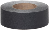 "2"" X 60' Case of 6 Rolls Resilient Rubberized Anti Slip Non Grip Tape Black"