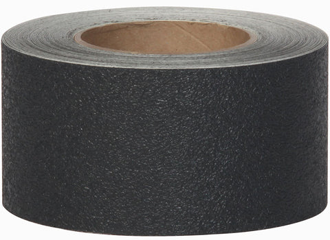 "3"" X 60' Jessup Safety Track 3500 Resilient Rubberized Anti Slip Non Slip Grip Tape Black 3510-3 Case of 4 Rolls"