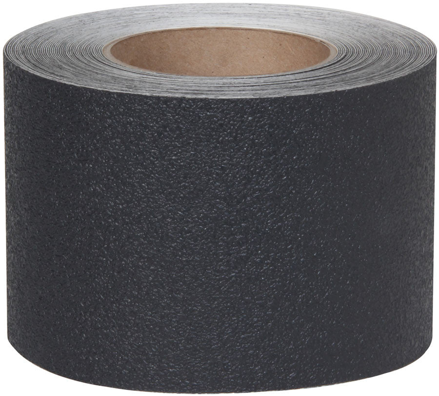 "4"" X 60' Roll Resilient Rubberized Anti Slip Grip Tape Black"