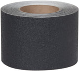 "4"" X 60' Roll BLACK Resilient Rubberized Tape - Case of 3"