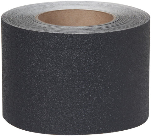 "4"" X 12' Roll Jessup Safety Track Resilient Rubberized Anti Slip Non Skid Tape Black 3510-4-12"