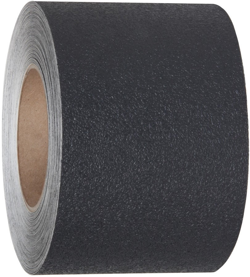 Black Resilient Rubberized Textured Non-Slip Tape - Multiple Options