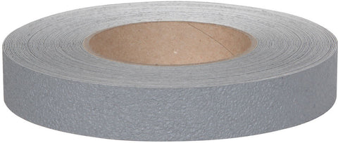 "1"" X 60' Roll Jessup Safety Track 3500 Series Resilient Anti Slip Non Skid Safety Tape Gray 3520-1"