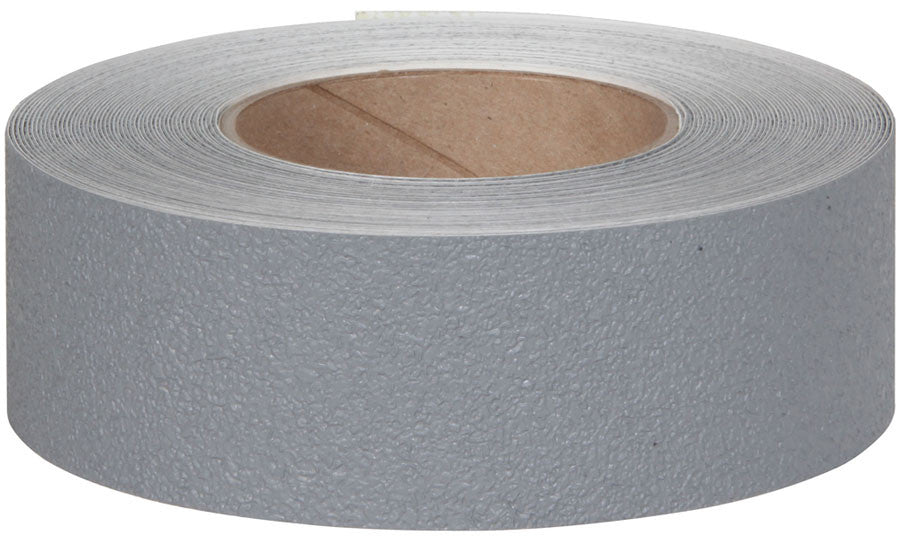"2"" X 60' Roll Jessup Safety Track 3500 Series Resilient Anti Slip Non Skid Safety Tape Gray 3520-2"